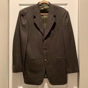 Olive Cashmere Jacket